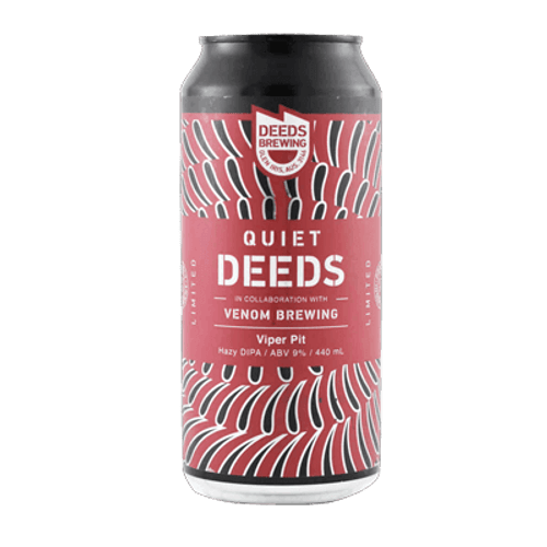 Deeds/Venom Brewing Viper Pit Hazy DIPA