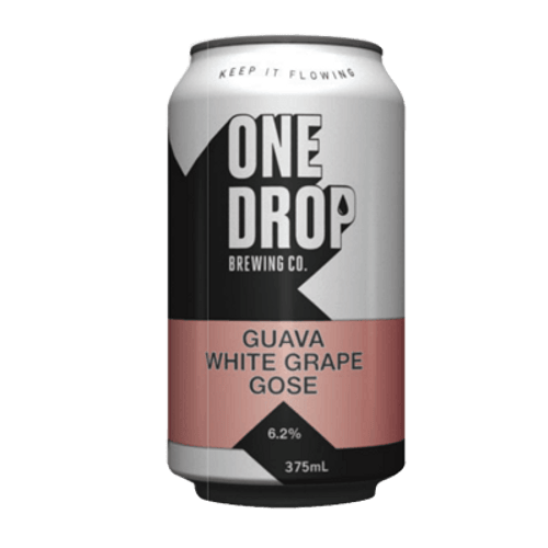 One Drop White Grape + Guava Gose