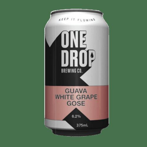 One Drop White Grape + Guava Gose