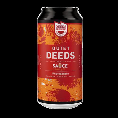 Deeds/Sauce Photosphere Hazy DIPA (1 Can Limit)