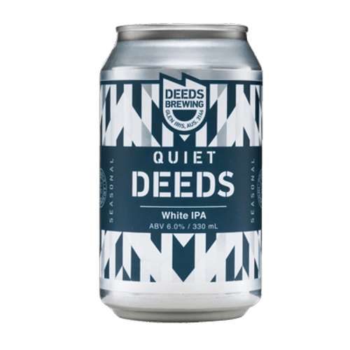 Quiet Deeds White IPA