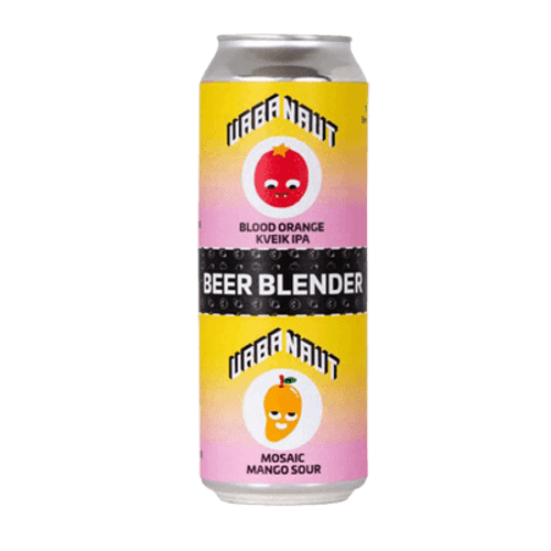 Urbanaut Beer Blender Blood Orange Kveik IPA Mosaic & Mango Sour Blend