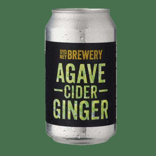 Sydney Agave Ginger Cider 355ml Can