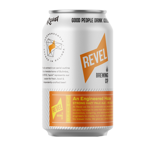 Revel An Engineered Haze Strong Hazy Pale Ale