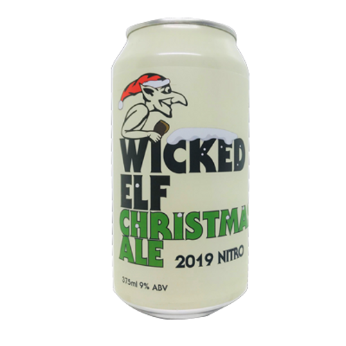 Wicked Elf Christmas Ale 2019 Nitro