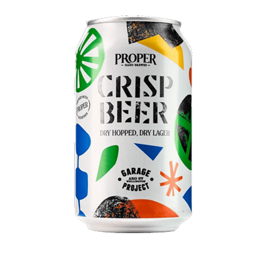 Garage Project Crisp Beer Dry Hopped Dry Lager