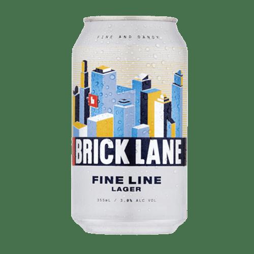 Brick Lane Fine Line Lager
