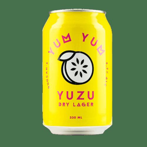 Duncan's Yum Yum Yuzu Dry Lager