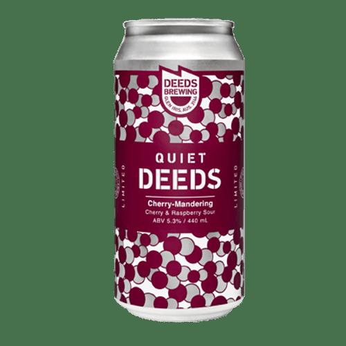 Quiet Deeds Cherry-Mandering Sour Ale