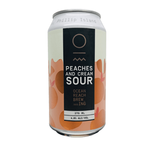 Ocean Reach Peaches and Cream Sour