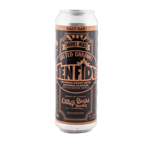Oskar Blues Ten FIDY Barrel Aged Salted Caramel