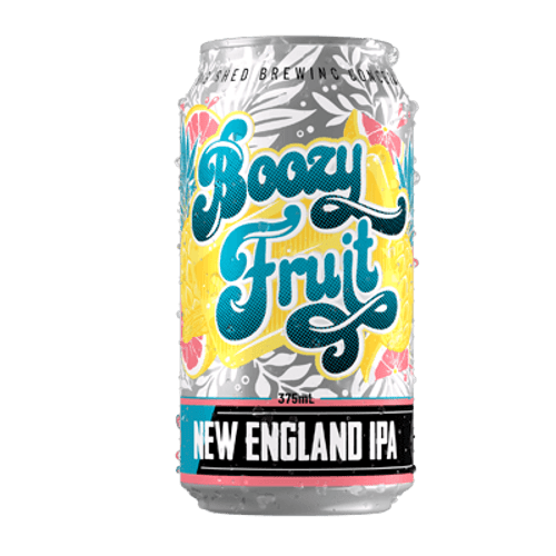 Big Shed Boozy Fruit NEIPA 375ml Can