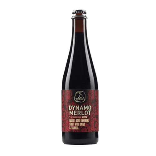 8 Wired Dynamo Merlot Barrel Aged Imperial Stout