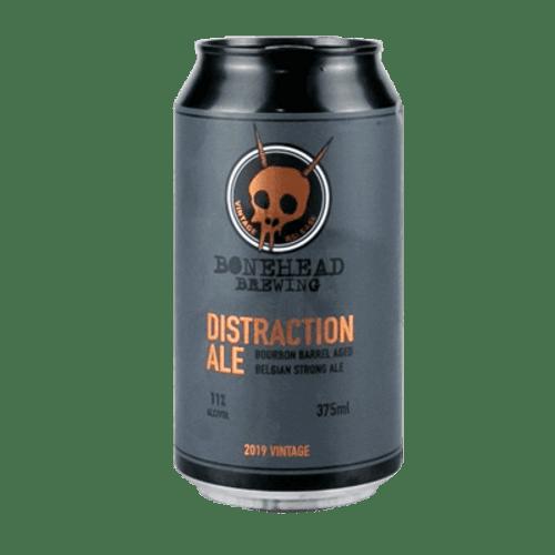 Bonehead Distraction Ale Bourbon Barrel Aged Belgian Strong Ale
