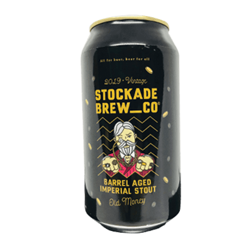 Stockade Old Money BA Imperial Stout 375ml Can