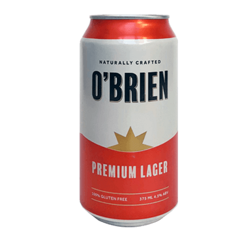 O'Brien Premium Lager 375ml Can