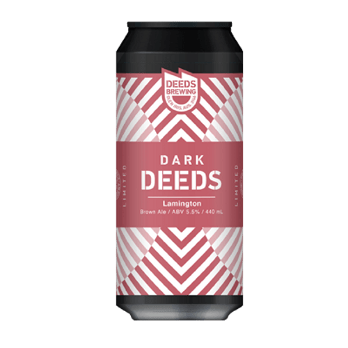 Quiet Deeds Lamington Ale 440ml Can
