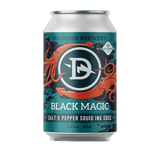Dainton Black Magic Salt & Pepper Squid Ink Gose