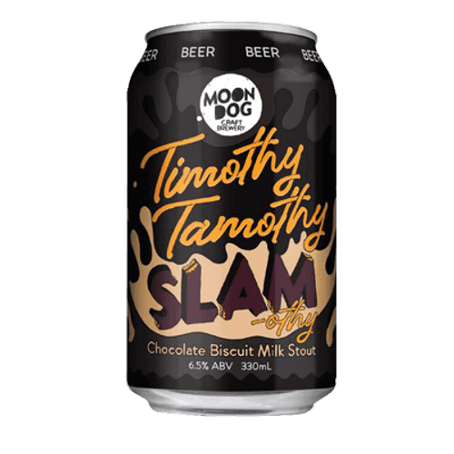 Moon Dog Timothy Tamothy Slam-othy Milk Stout 330ml Can