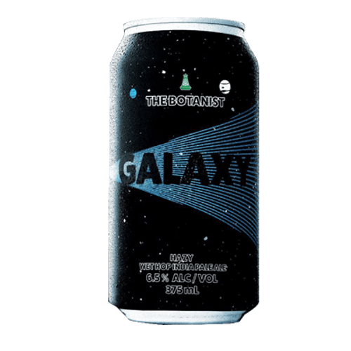 Green Beacon The Botanist Galaxy 2020 Hazy Wet Hop IPA
