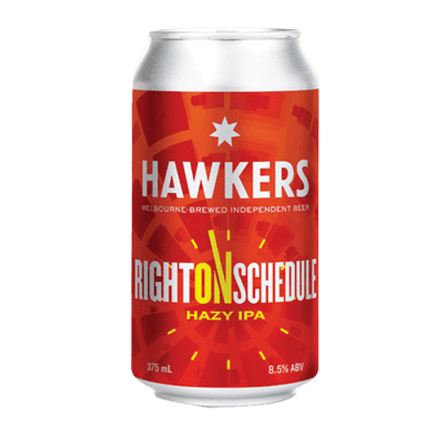 Hawkers Right On Schedule Hazy IIPA