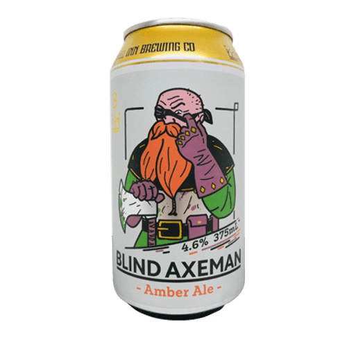 All Inn Blind Axeman Amber Ale