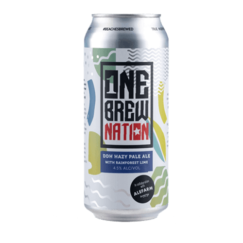 One Brew Nation/Alefarm DDH Hazy Pale Ale with Rainforest Lime