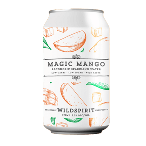 Wildspirit Magic Mango Seltzer