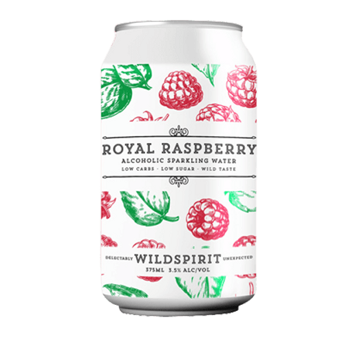 Wildspirit Royal Raspberry Seltzer