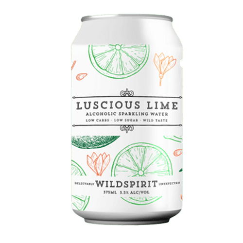 Wildspirit Luscious Lime Seltzer