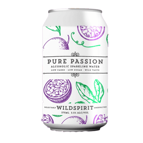 Wildspirit Pure Passion Seltzer