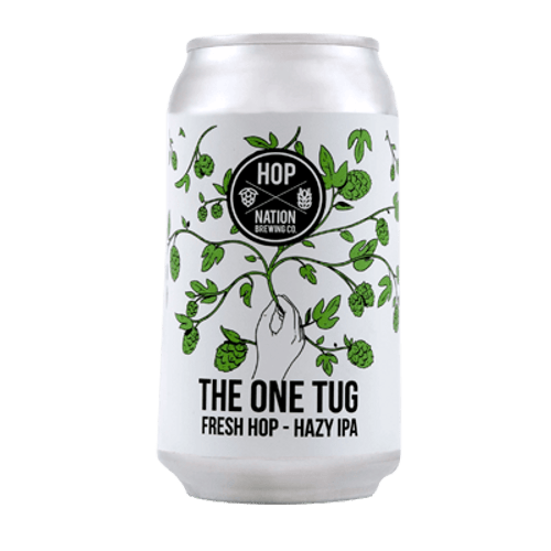 Hop Nation The One Tug 2020 Fresh Hop Hazy IPA