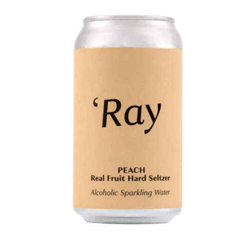 Hop Nation Ray Peach Hard Seltzer