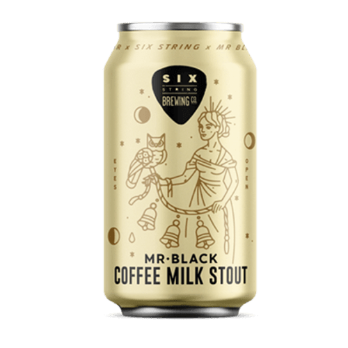 Six String Mr Black Coffee Milk Stout