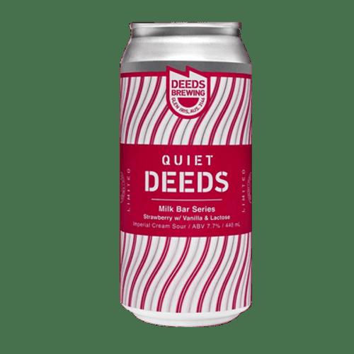 Quiet Deeds Milk Bar Series Strawberry, Lactose & Vanilla Sour Ale