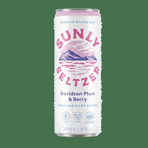 Sunly Seltzer Davidson Plum & Berry