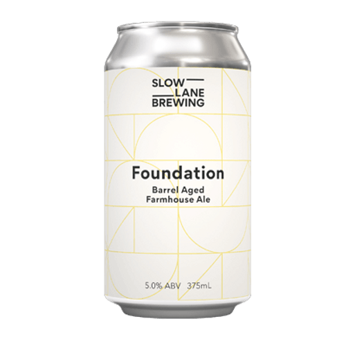 Slow Lane Foundation BA Farmhouse Ale