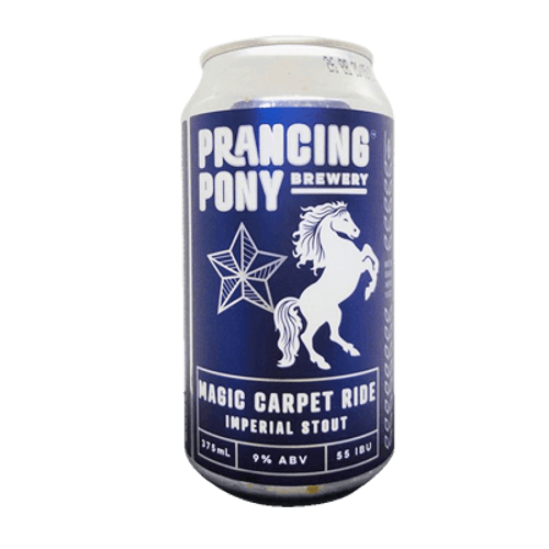 Prancing Pony Magic Carpet Midnight Ride Imperial Stout 375ml Can
