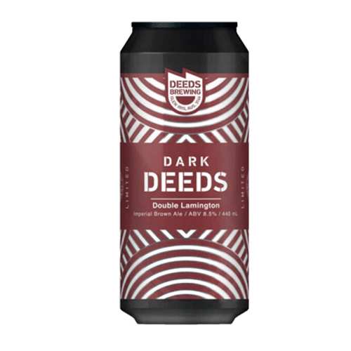 Quiet Deeds Dark Deeds Double Lamington Imperial Brown Ale