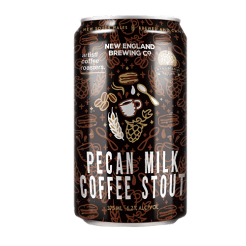 New England Pecan Milk Coffee Stout