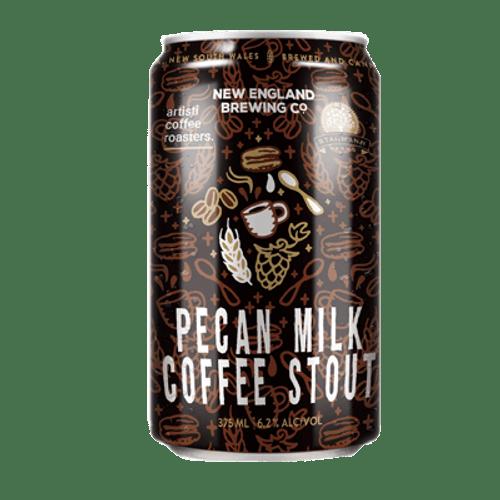New England Pecan Milk Coffee Stout