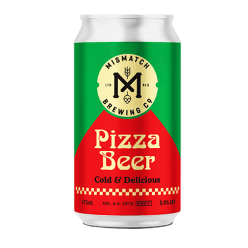 Mismatch Pizza Beer Lager