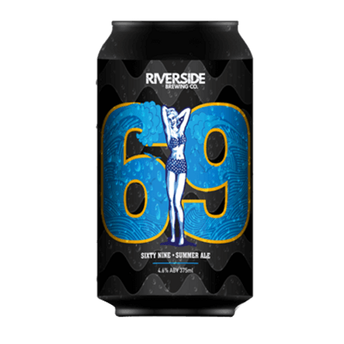 Riverside 69 Summer Ale 375ml Can