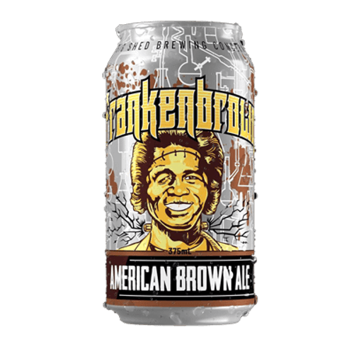 Big Shed Frankenbrown Ale 375ml Can