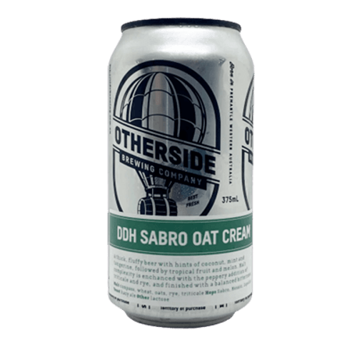 Otherside DDH Sabro Oat Cream IPA