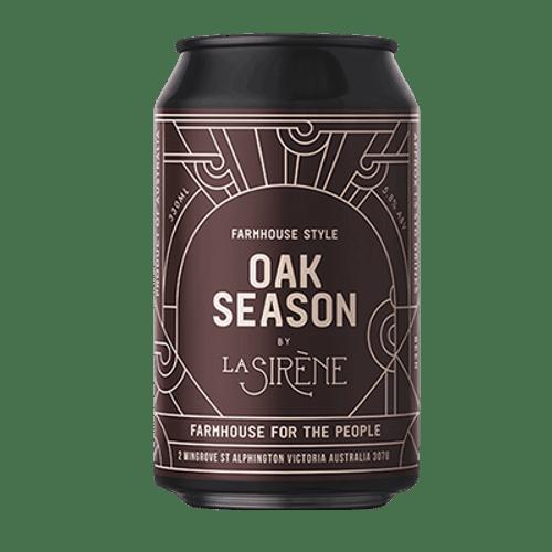 La Sirene Oak Season Farmhouse Ale