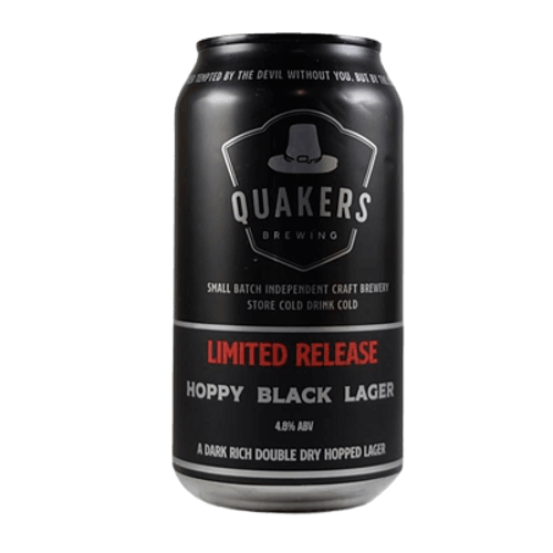 Quakers Hat Hoppy Black Lager