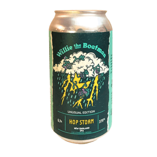Willie The Boatman Hop Storm Hazy IPA