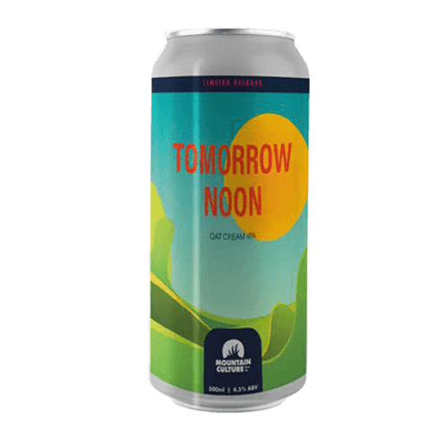 Mountain Culture Tomorrow Noon IPA