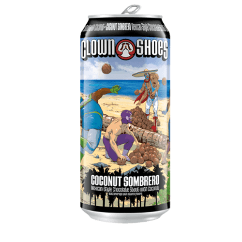 Clown Shoes Coconut Sombrero Stout